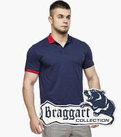 Рубашка поло 6332 т.синий-красный, фото 1