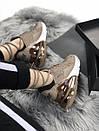 Кроссовки женские бежевые Nike Air Max 270, фото 6