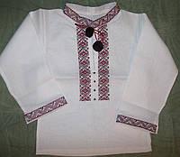 Рубашка вышиванка для подростка, размер 46-52