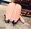 Стильний тканинний рюкзак з пеналом та принтом панди, фото 4