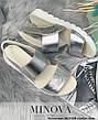 Босоножки женские кожаные, размер:36-41, фото 3