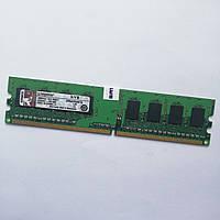 Оперативная память Kingston DDR2 1Gb 667MHz PC2 5300U 1R8 CL5 (KVR667D2N5/1G) Б/У