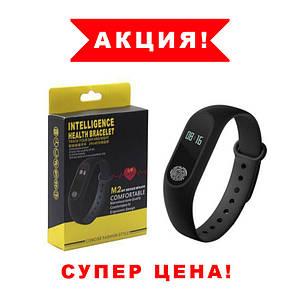 Фитнес браслет  Mi Band 2 смарт часы Спортивный трекер м2