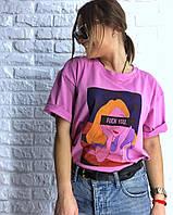 Футболка женская. Женская футболка с принтом. ТОП КАЧЕСТВО!!!, фото 1