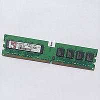Оперативная память Kingston DDR2 1Gb 667MHz PC2 5300U 2R8 CL5 (KPN424-ELG) Б/У, фото 1