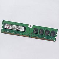 Оперативная память Kingston DDR2 1Gb 667MHz PC2 5300U 2R8 CL5 (KPN424-ELG) Б/У