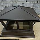Колпак для вентиляции и дымохода 520*520(ruukki 0.5мм), фото 3
