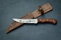 Охотничий нож Тотем Тигр,охотничьи ножи,товары для рыбалки и охоты,оригинал ,качество,тур ножи