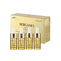 BERGAMO Luxury Gold Collagen - Сыворотка ампульная с золотом для восстановления, 13 мл