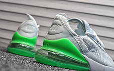 """Кроссовки Nike Air Max 270 """"Белые\Зеленые"""", фото 2"""