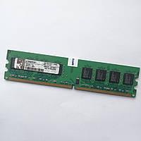Оперативная память Kingston DDR2 1Gb 667MHz PC2 5300U 2R8 CL5 (KPN424-ELJ) Б/У