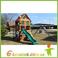 """Спортивные комплексы для детей на улицу """"Люкс-3"""" игровая детская площадка"""