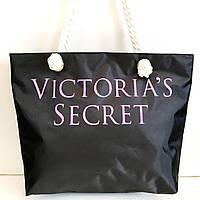 Универсальные сумки оптом для покупок Victiria's Secret (черный)33*45см