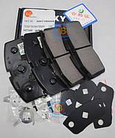 3501190005 Колодки тормозные передние CK (Оригинал) с ABS Geely/Джили СК с АВС, фото 1