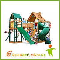 Детский уличный спортивно игровой комплекс Люкс-7 открытая спираль