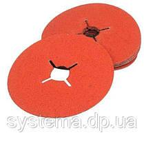 Фибровые шлифовальные круги 785C CUBITRON+оксид алюм, 125Х22мм, P80, для алюминия и нерж. - 3M 88975, фото 2