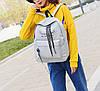 Большой тканевый рюкзак с надписью и принтом ушек, фото 5