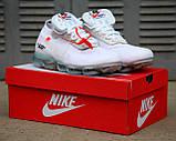 Мужские кроссовки Nike Air Vapormax x Off White 2018 (Premium-class) белые, фото 5