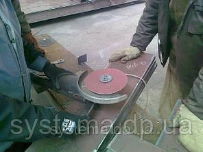 3M 88977 - Фибровые шлифовальные круги 785C CUBITRON+оксид алюм, 125Х22мм, P120, для алюминия и нерж., фото 2
