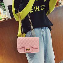 Стьобана Fashion сумка клатч на ланцюжку, фото 2