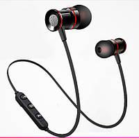 Беспроводные спортивные Bluetooth 5.0 наушники-гарнитура с микрофоном Athlete series XT-10 черные