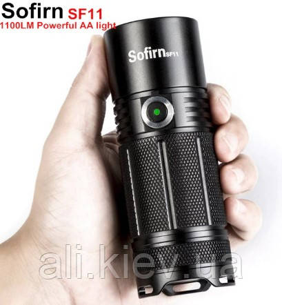 Компактный и мощный Sofirn SF11 CREE XP-L 1020 лм, 6 реж., 4*AA) белый свет