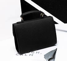Жіноча сумка скриня ділового стилю, фото 3