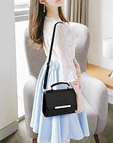Жіноча сумка скриня ділового стилю, фото 2