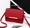 Жіноча сумка скриня ділового стилю, фото 5
