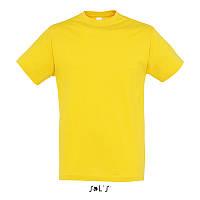 Футболка SOL'S REGENT желтый цвет