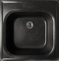 Гранитная мойка Valetti Standart модель №1 черный 44*43