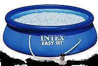 Семейный надувной бассейн intex 28146 + фильтрующий насос, 366*91 см