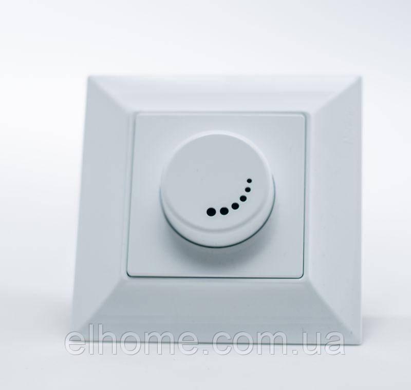 Світлорегулятор 1000Вт з підсвіткою,Gunsan Neoline  білий