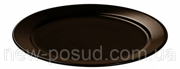 Тарелка десертная Ipec Bari 19 см (коричневая) FDB19M