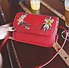 Нежная сумка клатч с вышивкой цветов, фото 4