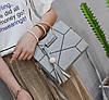 Каркасна сумка з круглими ручками і мозаїкою, фото 3