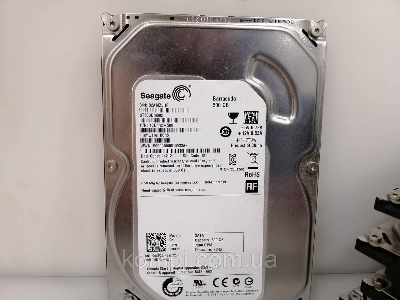 "HDD Жорсткий диск Seagate 500Gb Sata III 3.5 "" 7200rpm ІДЕАЛЬНИЙ СТАН"