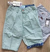 Котоновые шорты для мальчиков оптом,  Nature, размеры 8-16 лет, арт. RX-2432