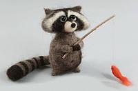 """Набор для валяния игрушек Чарівна Мить В-133 """"Енотушка"""""""
