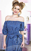 Женское стильное летнее джинсовое платье, платье летнее ,платья приталенные короткие,платье полосатое