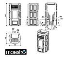 Пеллетная печь MCZ SUITE Comfort Air - Maestro, фото 6