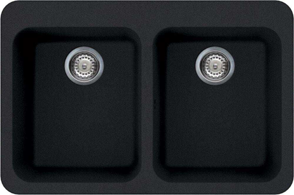 Врізна мийка, необорачиваемая Smeg LSE802A-2 антрацит