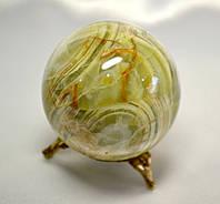 Шар из натурального лечебного камня оникс 7,5 см