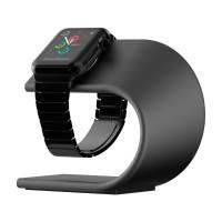 Алюминиевая док-станция Nomad Stand для Apple Watch Space Gray