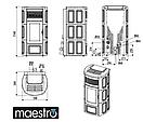 Пеллетная печь MCZ SUITE Comfort Air 14 - Maestro, фото 6