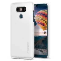 Чехол Spigen Thin Fit Shimmery White для LG G6