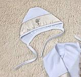 Крестильная рубашка с чепчиком для малышей Ангел (3-9 мес), фото 10