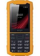 Противоударный мобильный телефон ERGO F245 Strength DS  2 сим,2,4 дюйма,1,3 Мп,1400 мА\ч.