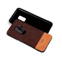 Тканевый чехол MOFI Black/Brown для Samsung Galaxy S9