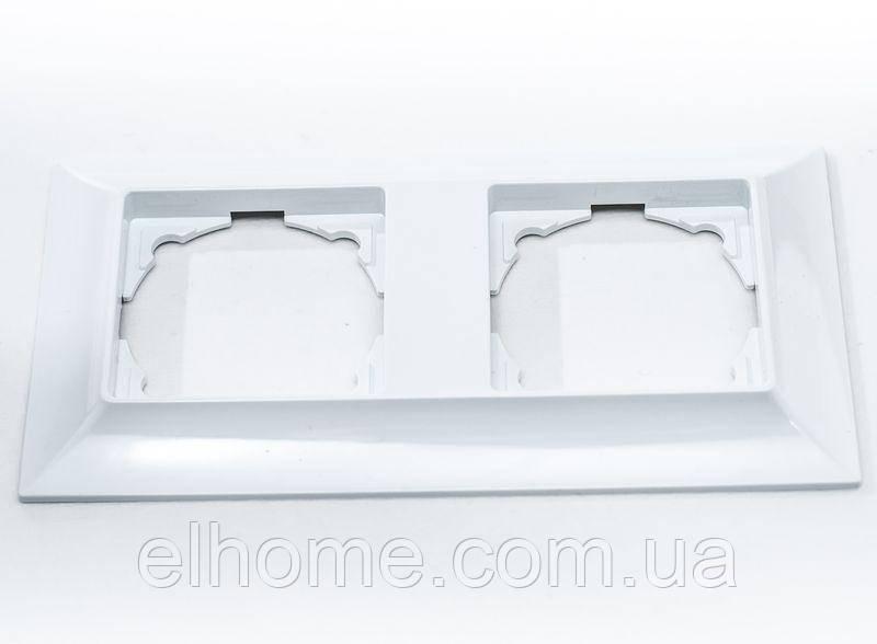 Рамка двомісна, Gunsan Neoline  біла